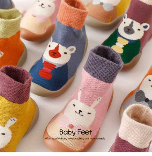 New Autumn And Winter Cartoon Sock Shoes (BUY 1 Get 2 Free Random)