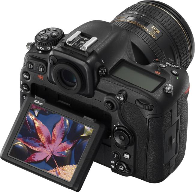 D500 DSLR Camera with 16-80mm Lens - Black