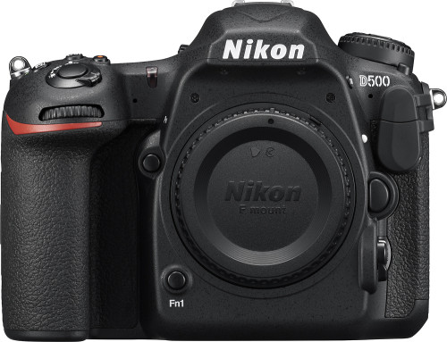 D500 DSLR Camera (Body Only) - Black