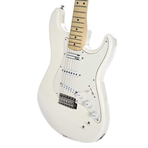 Fender Artist Ed O'Brien Stratocaster Olympic White