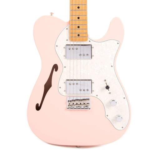 Fender Vintera '70s Telecaster Thinline Shell Pink w/4-Ply Aged Pearl Pickguard
