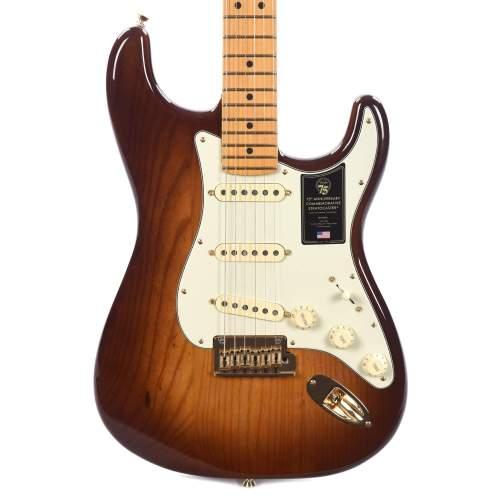 Fender 75th Anniversary Commemorative Stratocaster 2-Color Bourbon Burst