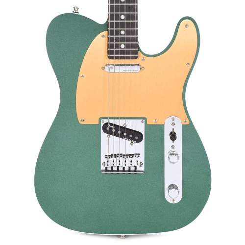 Fender American Ultra Telecaster Mystic Pine w/Ebony Fingerboard & Anodized Gold Pickguard