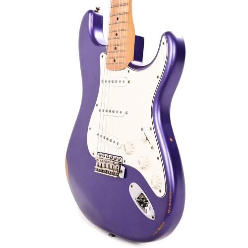 Fender Vintera Road Worn Mischief Maker Stratocaster Metallic Purple w/Pure Vintage '59 Pickups