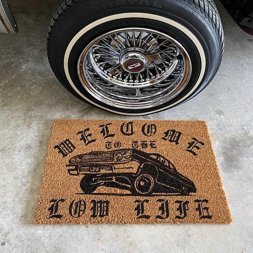 Lowrider Doormat
