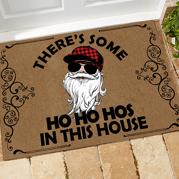 Cardi B Doormat Some Hos In This House