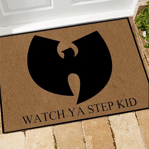 WT Doormat Watch Ya Step Kid WT Legend