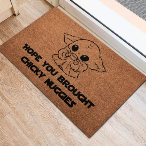 Hope You Brought Snacky Snacks Doormat