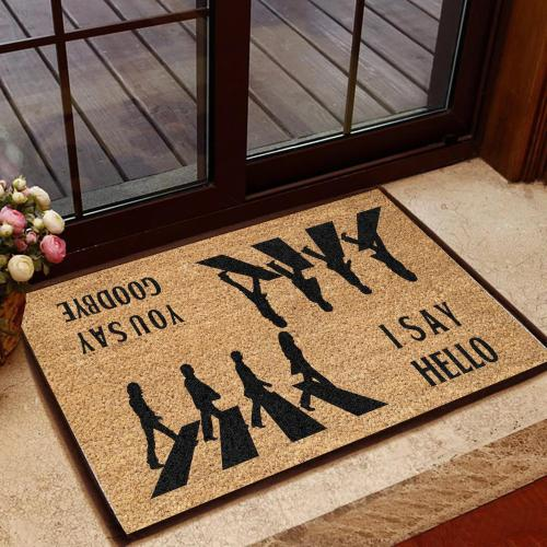 The Beatles Inspiration Doormat