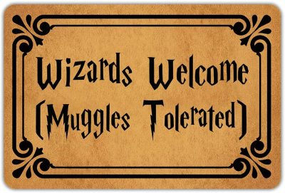 Wizards Welcome Doormat