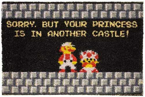 Sorry, But Your Princess Is In Another Castle Doormat
