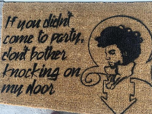 Custom Prince Doormat