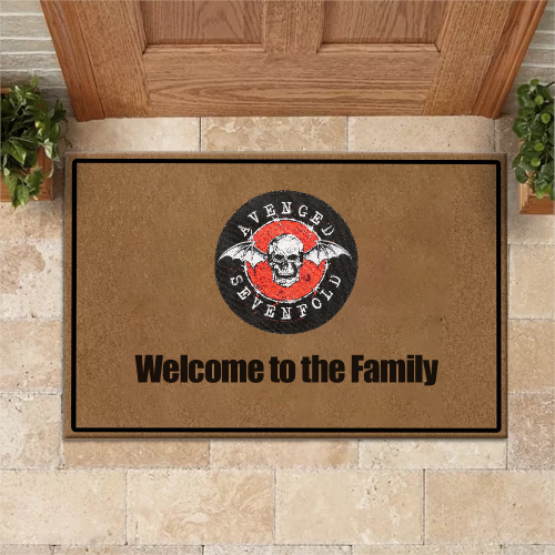 Avenged Sevenfold Doormat