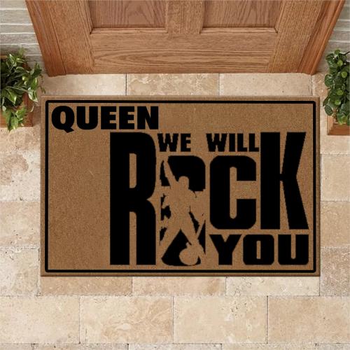 Queen Rock Doormat