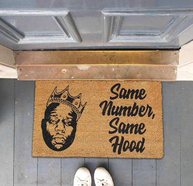 Biggie Smalls Doormat