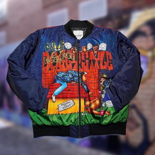 Snoop Dogg inspiration Down Jacket