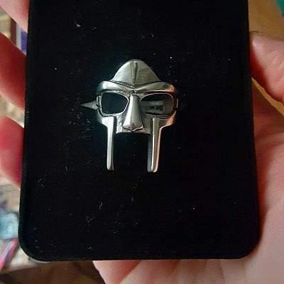 MF DOOM Stainless Steel Ring