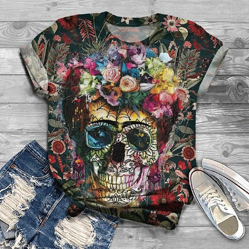 Sexy skull top inspiration T-Shirt