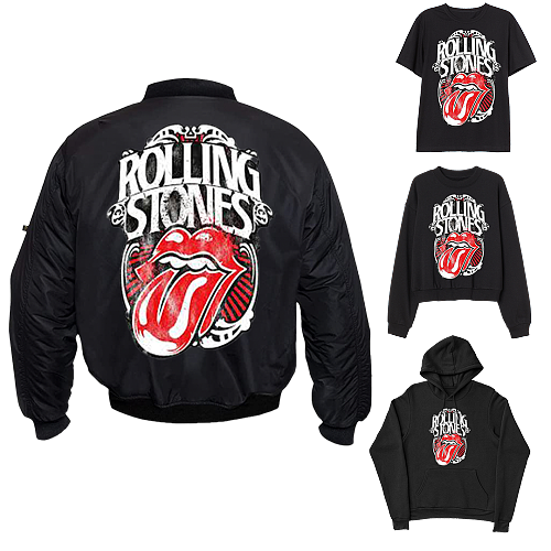 The Rolling Stones inspiration Tops