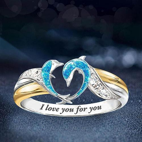 Dolphin Ring