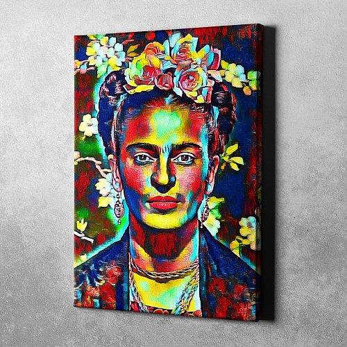 Frida Kahlo Canvas Painting Art
