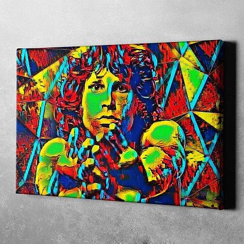 The Doors Jim Morrison Canvas Painting Art