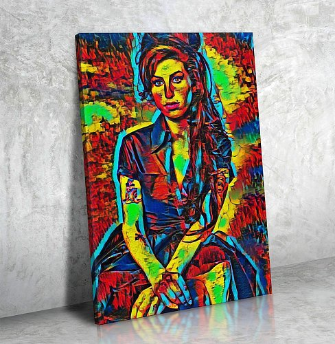 Amy Winehouse Canvas Painting Art
