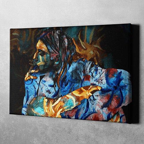 Kurt Cobain Canvas Painting Art