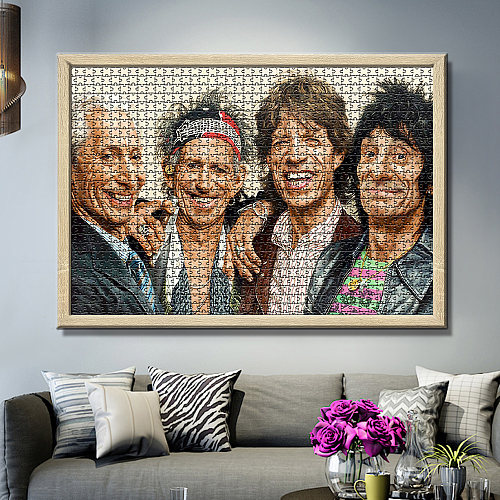 The Rolling Stones inspiration Puzzle Jigsaw