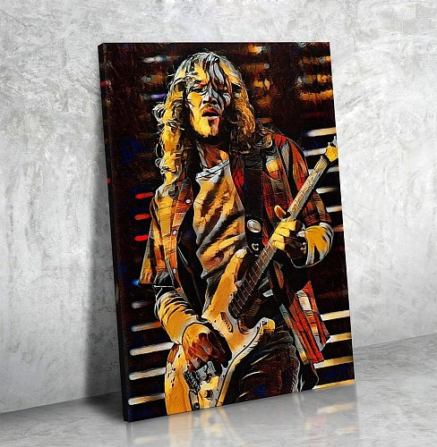 John Frusciante Canvas Painting Art