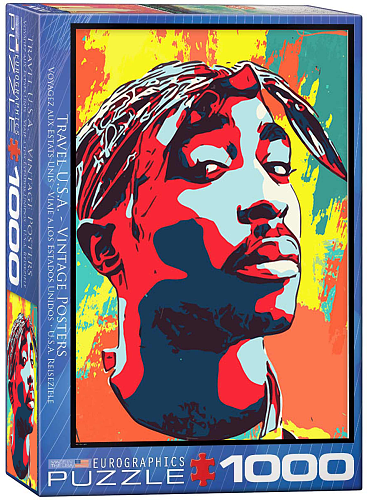Tupac Shakur inspiration Puzzle Jigsaw