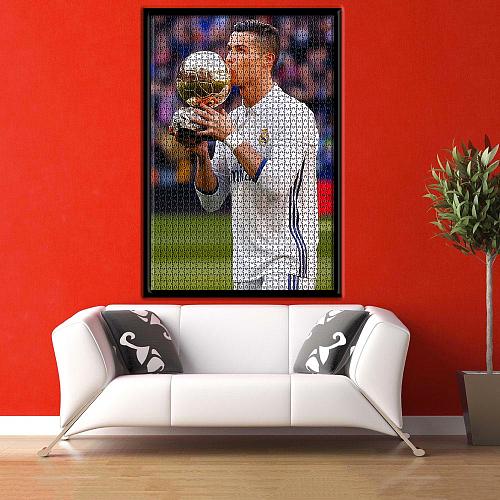 Cristiano Ronaldo inspiration Puzzle Jigsaw
