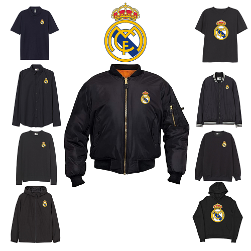 Real Madrid CF inspiration Tops