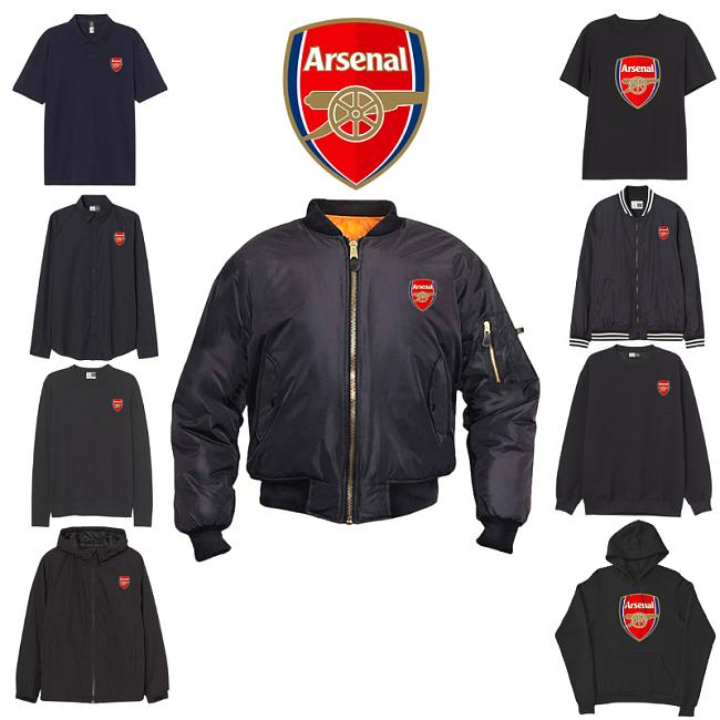 Arsenal F.C inspiration Tops