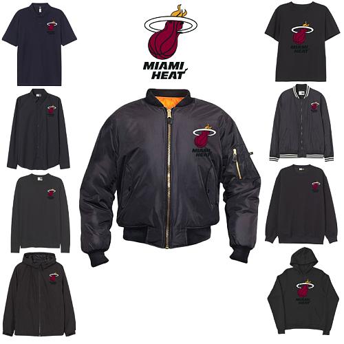 Miami Heat inspiration Tops