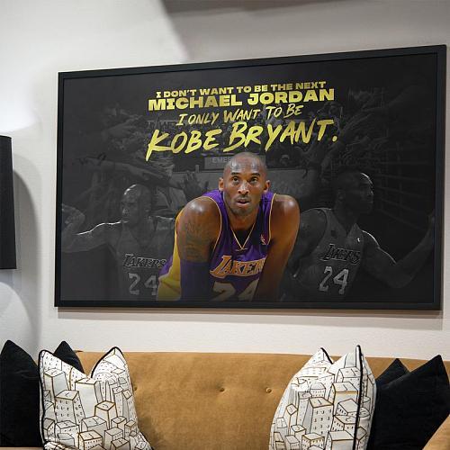 Kobe Inspired Canvas Painting Art