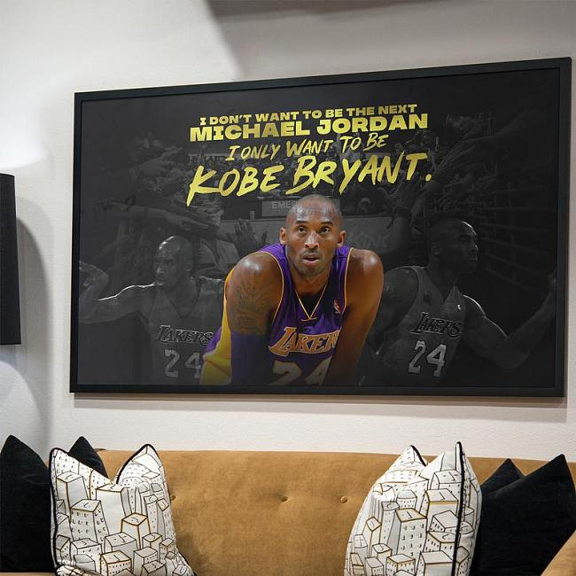 Kobe Inspired Canvas Painting Art
