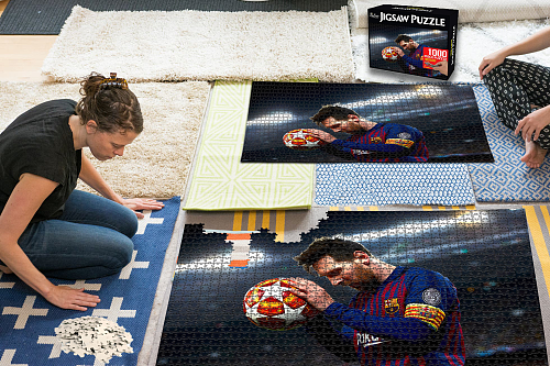 Lionel messi inspiration Puzzle Jigsaw