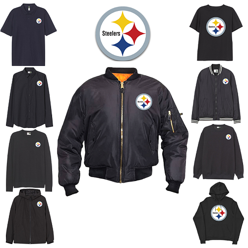 Pittsburgh Steelers inspiration Tops
