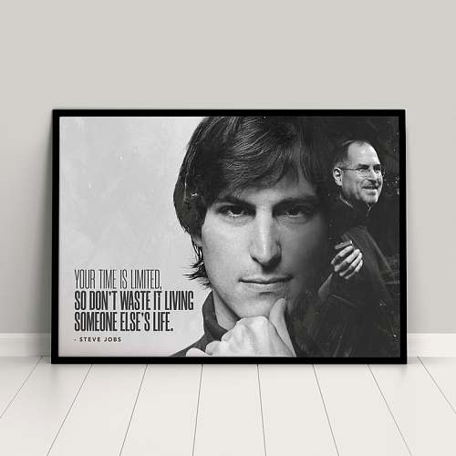 Steve Jobs Canvas Painting Art