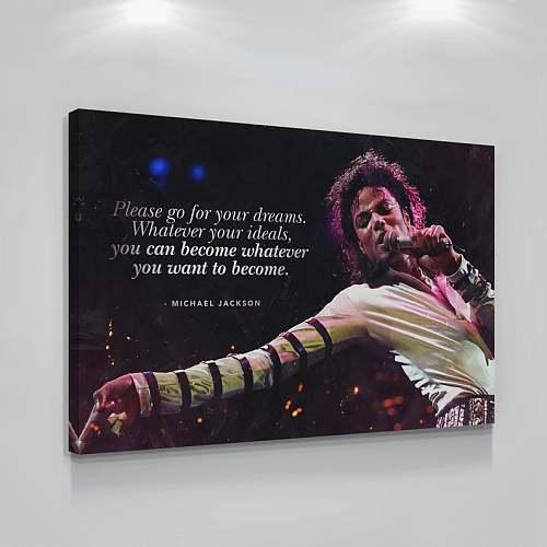 Michael Jackson Pop Legend Canvas Painting Art