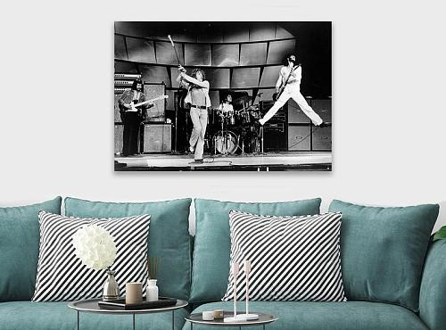 The Who Rock Band Inspired Canvas Painting Art