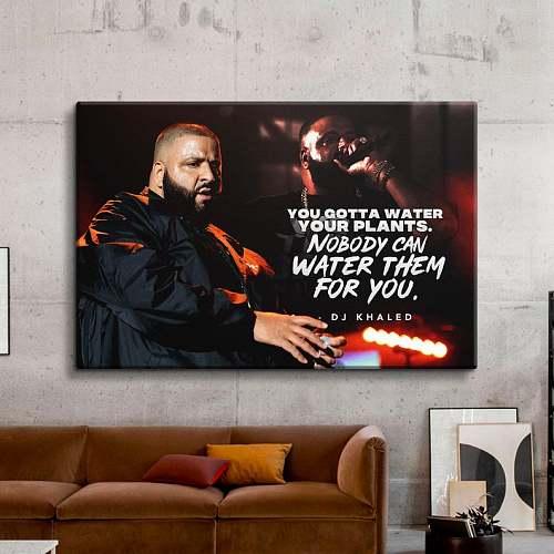 DJ Khaled Rap Legends Canvas Painting Art