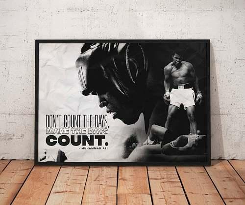 Muhammad Ali Box Legends Canvas Painting  Art