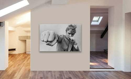 Michael Caine Canvas Painting Art