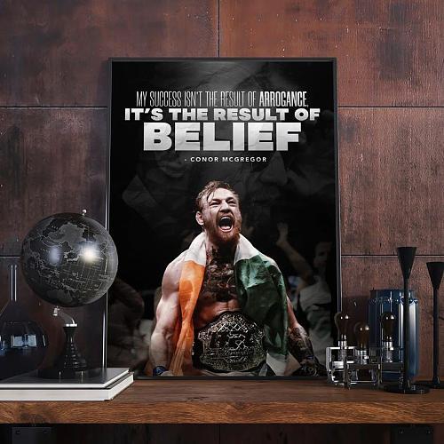 Conor McGregor UFC Legends High Quality Canvas Painting Art