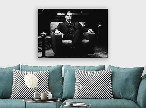 The Godfather Al Pacino Canvas Painting Art