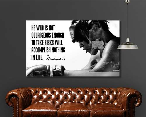 Muhammad Ali High Quality Canvas And Poster Print