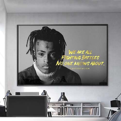 XXXTentacion Rap Legends High Quality Canvas Painting Art