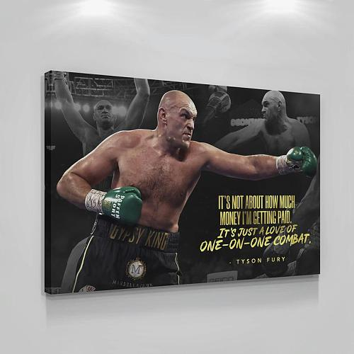 Tyson Fury Box Legends High Quality Canvas Painting Art